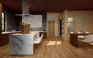 Wybór grafiki na szkle w kuchni