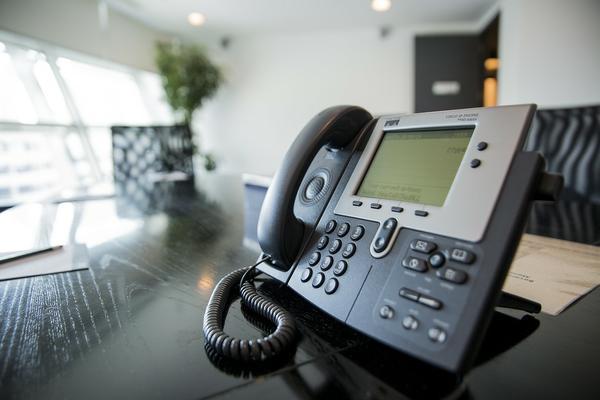 W biurze miałam nowoczesny telefon