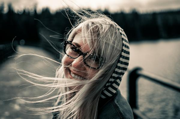 Delikatne i kobiece okulary
