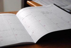 Książkowy kalendarz dla koleżanki
